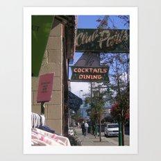Downtown Anchorage Art Print