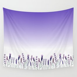 Field of Lavender Wall Tapestry