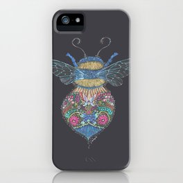 Bee Totem iPhone Case