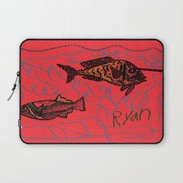 Unicorn Fish Laptop Sleeve