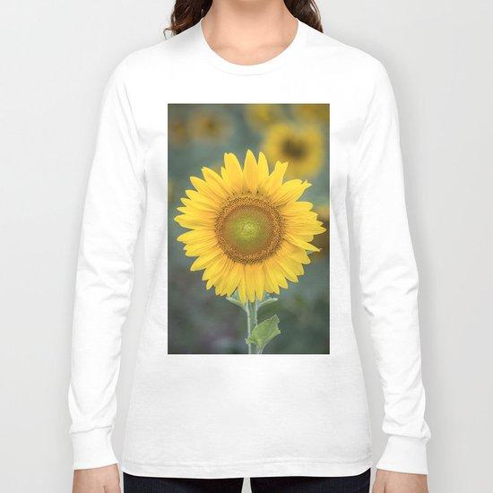 Tournesol jaune Long Sleeve T-shirt