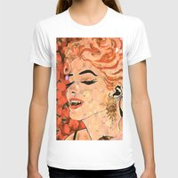 marilyn T-shirts featuring Marilyn  by Saundra Myles