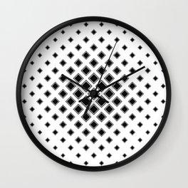 square pattern Wall Clock