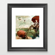 CLOUDWALKERS TWO Framed Art Print