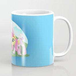 Spike,Angel and Fluttershy Coffee Mug