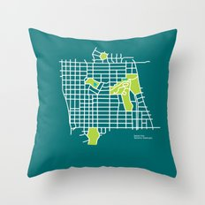 Manito Park, Spokane Throw Pillow
