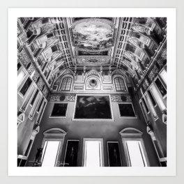 Museo Archeologico Nazionale Di Napoli - Black and White Art Print