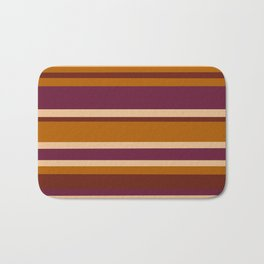 90's Stripes Bath Mat