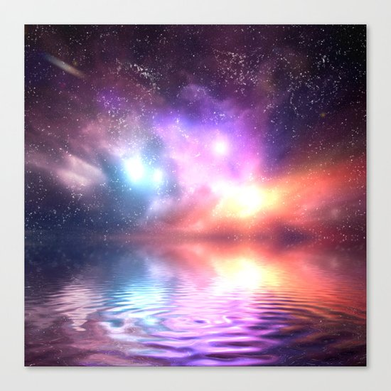 Abstract Universe Canvas Print