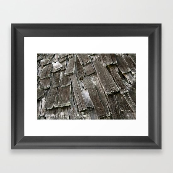 It's Everywhere!  Run! Framed Art Print
