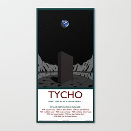 Tycho - 2001 monolith Canvas Print