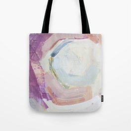Waves: Rust Tote Bag