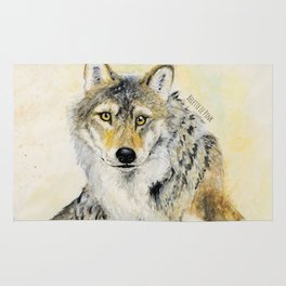 Totem Wolf: Gray wolf (c) 2017 Rug