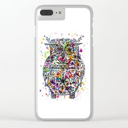 Owl Be Cool Clear iPhone Case