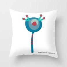 FLOR 5 Throw Pillow