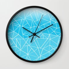 Ab Half And Half Electric Wall Clock