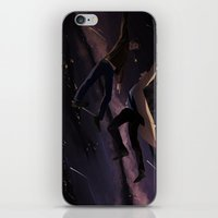 destiel iPhone & iPod Skins featuring Supernatural - Destiel by arttano