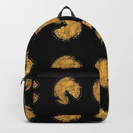 Golden potato Backpack