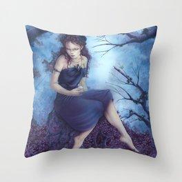 Garden of secrets Throw Pillow