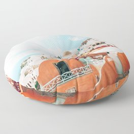 Santorini Glance Floor Pillow
