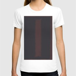 Black on Maroon - Mark Rothko T-shirt