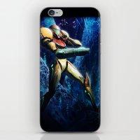 samus iPhone & iPod Skins featuring Samus by Louten