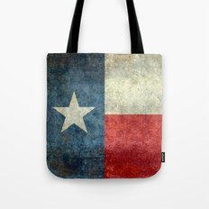 State flag of Texas, Lone Star Flag of the Lone Star State Tote Bag