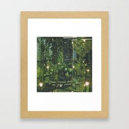In the Light Framed Art Print