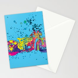 ap127-10 Motorcycle Stationery Cards