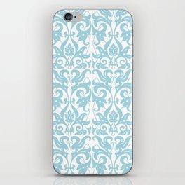 SOFT BLUE PARSLEY iPhone Skin