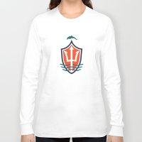 italian Long Sleeve T-shirts featuring MIAFC (Italian) by Football As Football