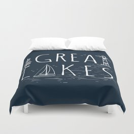 Great Lakes Duvet Cover