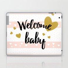 Welcome baby Laptop & iPad Skin
