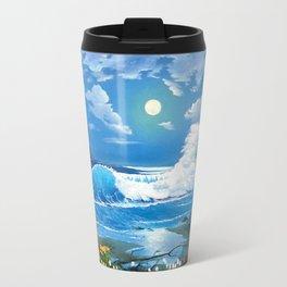 Sea Landspace Travel Mug