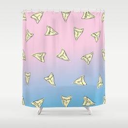 Pastel Shark Shower Curtain