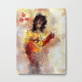 She Survived Metal Print