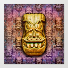 The Tiki Gang Canvas Print