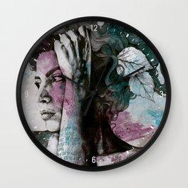 Beneath Broken Earth Wall Clock