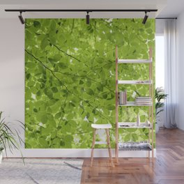 Leaves - JUSTART (c) Wall Mural