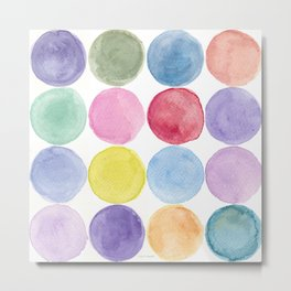 dotted and well organized Metal Print