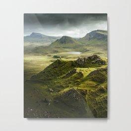 Isle of Skye, Scotland Metal Print