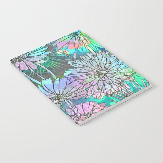 Spring Meadow Pattern Notebook