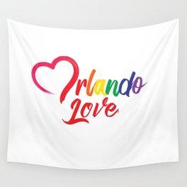 Heart Orlando Love Wall Tapestry