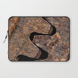Old and rusty cogwheels Laptop Sleeve