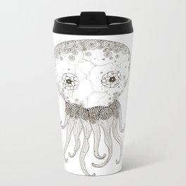 Cracked Octopus Metal Travel Mug