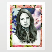 ultraviolence Art Prints featuring ULTRAVIOLENCE by Jethro Lacson