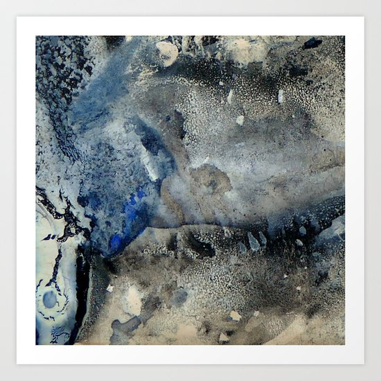 Dry Areas Art Print