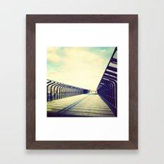 Right way Framed Art Print