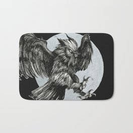 Tooth, Beak and Claw Bath Mat
