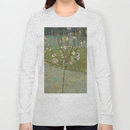 "Vincent van Gogh ""Peach Tree in Blossom"" Long Sleeve T-shirt"